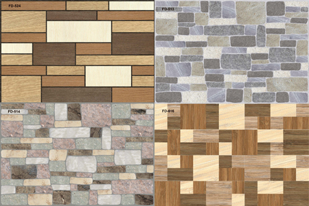 Digital Wall Tiles And Ceramic Wall Tiles Manufacturer By - Digital elevation tiles